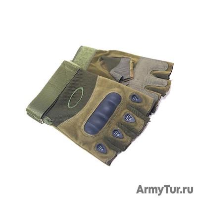 Тактические перчатки Окли олива